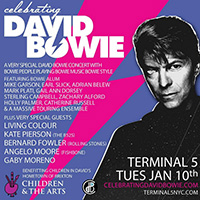 image for Celebrating David Bowie - Terminal 5, Tuesday, January 10, 2017