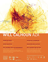 Will Calhoun 'AZA' reception, live performance, and exhibition - April 22, 2016