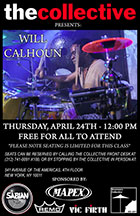 flyer for Master Class at The Collective, NYC