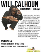 flyer for Master Class in Clinton, NY