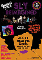 flyer for Sly Reimagined
