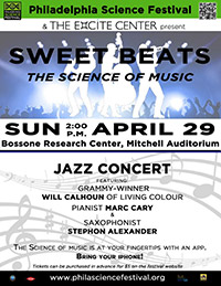 Sweet Beats: The Science of Music Jazz Concert