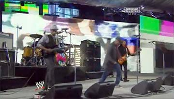 "Living Color performed their hit, ""Cult of Personality"" live at Wrestlemania XXIX"
