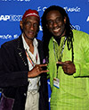 "Bernie Worrell and Will Calhoun participate in the ""Master Session"" during the 2011 ASCAP ""I Create Music"" Expo on April 30, 2011 in Hollywood, California. Photo by Frank Micelotta/PictureGroup"